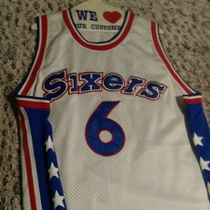 Dr.j sixers jersey